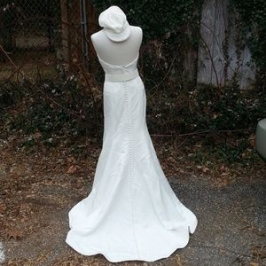 2nd listing more pics Simple wedding gown Mikaella
